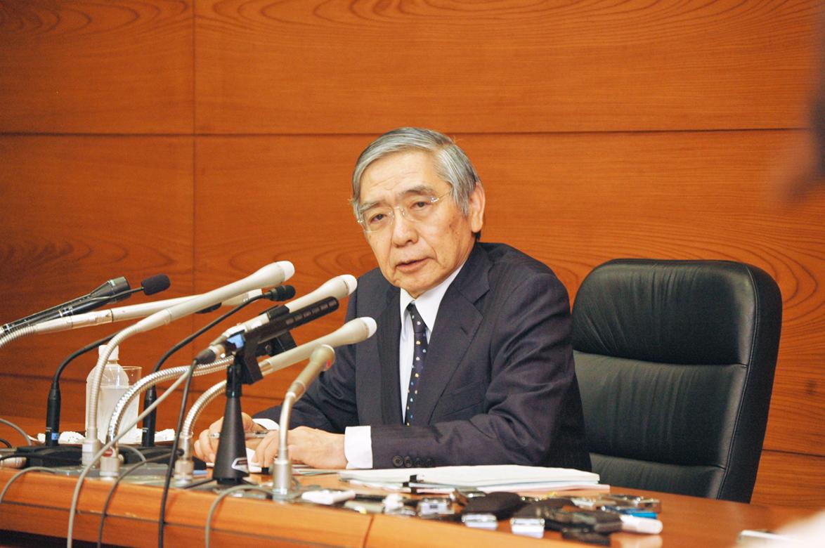 2018年4月20日号11面 【読者の意見】黒田・日銀総裁の続投、「支持」は28%、