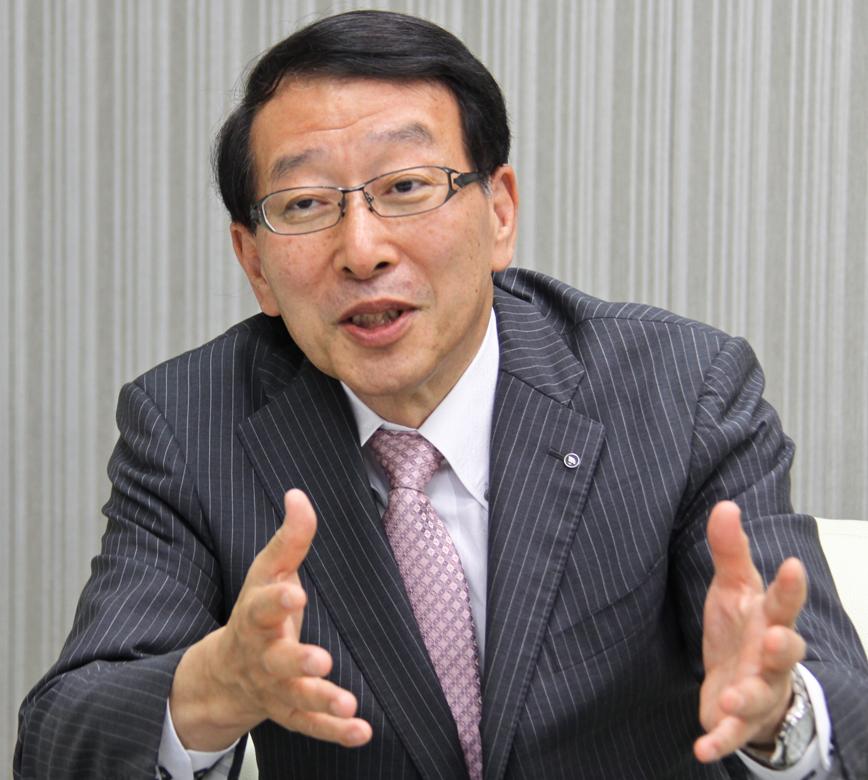 2018年6月15日号6面 柴戸・地銀協会長に聞く、事業性評価でニーズに応える