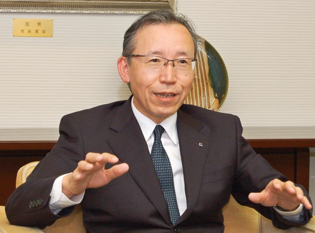 2018年6月22日号7面 熊谷・第二地銀協会長に聞く、地域貢献へ「継続と変革」