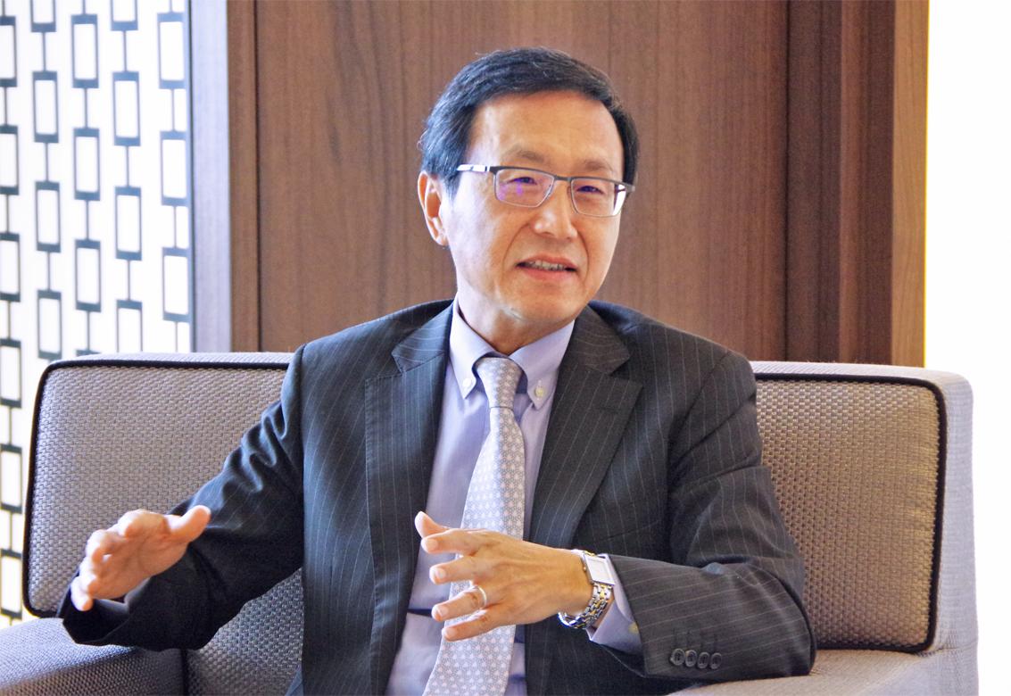 2018年8月31日号17面 【現地取材】チェン・中國信託商業銀行CEOに聞く