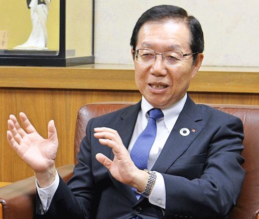 2019年6月14日号6面 笹島律夫・地銀協会長に聞く、地域の持続的発展を支える