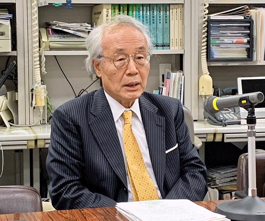 2019年7月5日号9面 全信中協・全信組連、一体運営スタート、内藤氏が理事長兼務