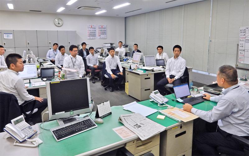 2019年8月23日号20面 西日本シティ銀行渡辺通支店、組織力強化と若手育成
