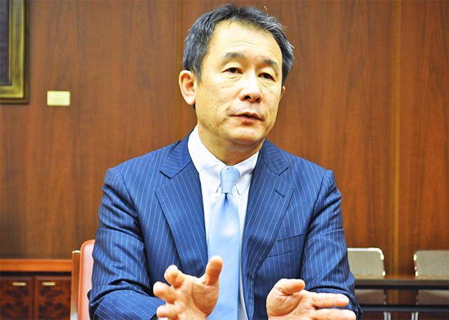 全銀協 林・企画委員長(三菱UFJ銀行取締役常務執行役員)