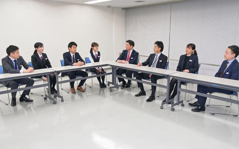 2021年3月5日号20面 ワンチーム ソリューション提案、三菱UFJ銀行柳橋支店