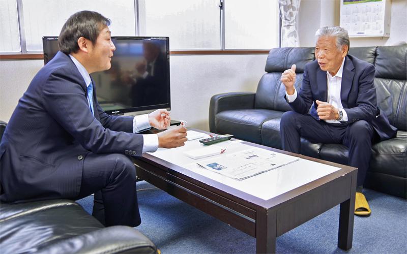 2021年3月12日号20面 ワンチーム 新型コロナ対応、東京信金中井駅前支店