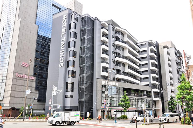 6月14日開店予定の京都銀行河原町支店と併設ホテル