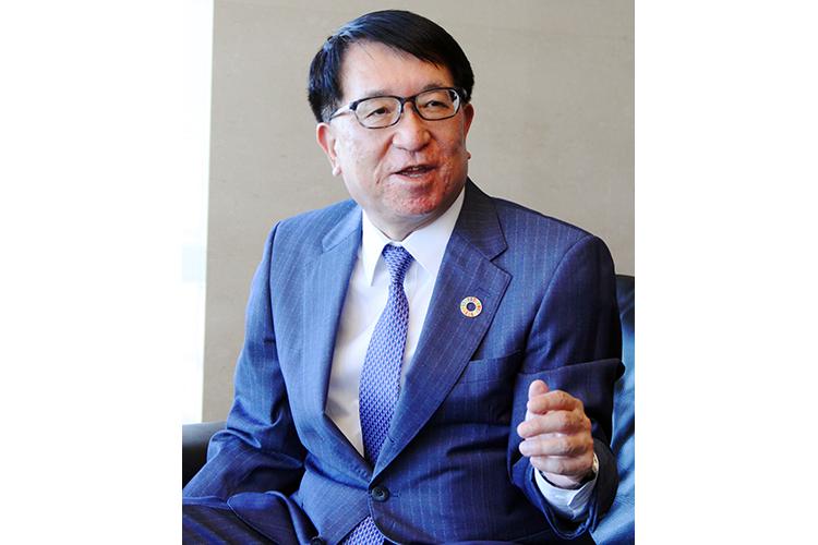 2021年6月25日号7面 インタビュー 安田・第二地銀協会長、コロナ後の収益確保支援